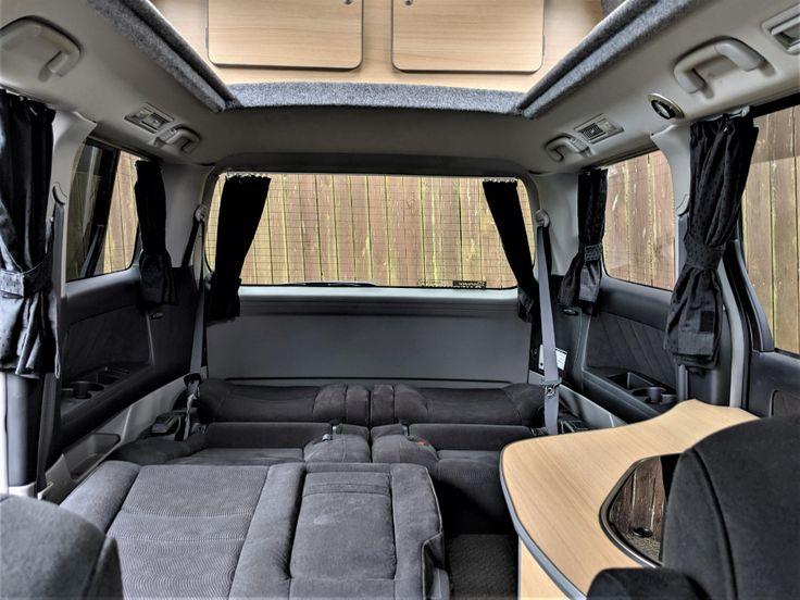 Pin By Sarah Salmons On Camper Van Conversion Diy In 2021 Toyota Alphard Toyota Campervan Bed