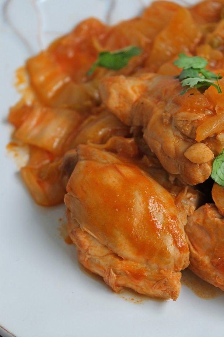 ElsaRblog: Gestoofde kipdijfilet (Recept uit Portugal)