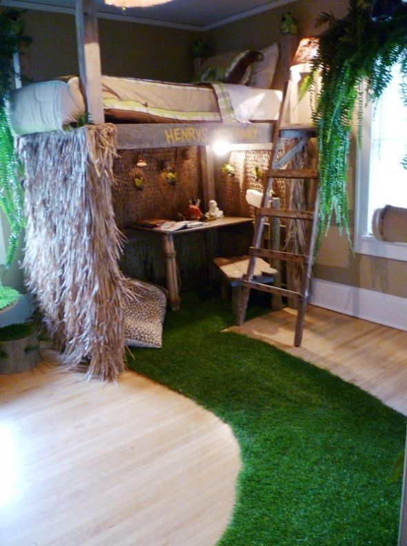 about tree house bedrooms on pinterest kid bedrooms indoor tree