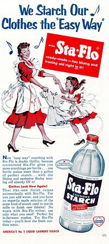 """This Is the Way We Starch our Clothes..."" 1953"