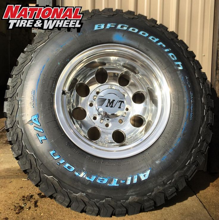 "16X12 Mickey Thompson Classic 3 wheel mounted up to a 305X70R16 BFGoodrich Ko2 tire. Click the ""Visit"" button above to begin building your own custom wheel and tire package where you will receive an immediate price quote. You can also head over to ntwonline.com to see our entire selection plus prices, or you can call (800) 847-3287 to speak to a Sales Rep."