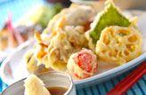野菜の天ぷらのレシピ・作り方 - 簡単プロの料理レシピ | E・レシピ
