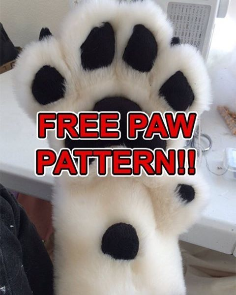 Under free stuff! At FreakHoundStudios.com #free #paws #fursuit