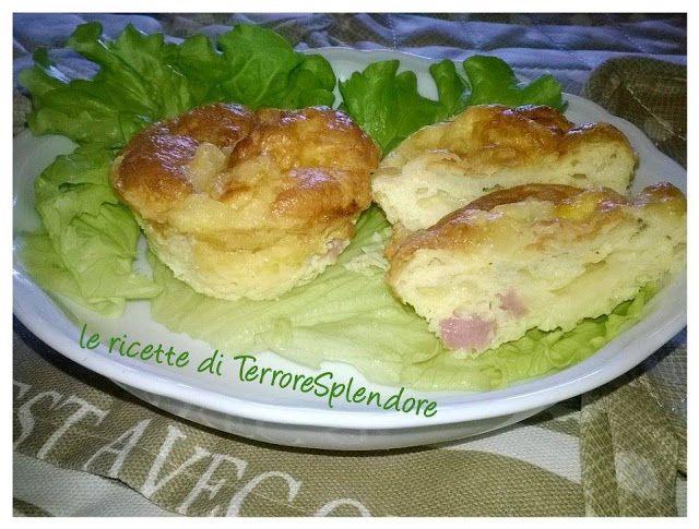 Le ricette di TerroreSplendore: Muffins salati senza farina!