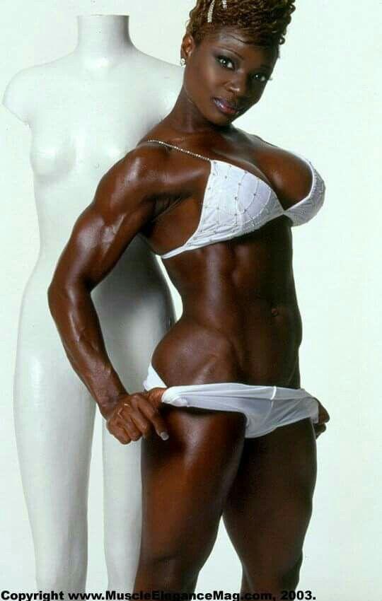 Culturista Mujeres desnudos imágenes negras