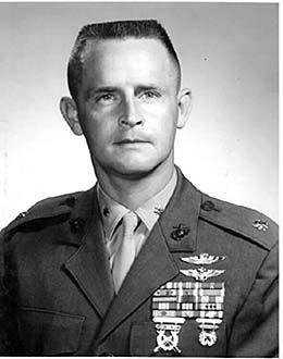 Vietnam War Congressional Medal of Honor Recipient Major Stephen W. Pless, USMC
