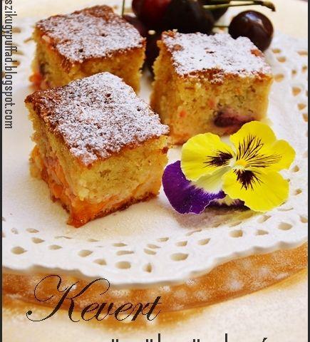 Gyümölcsös kevert sütemény - Receptek | Ízes Élet - Gasztronómia a mindennapokra