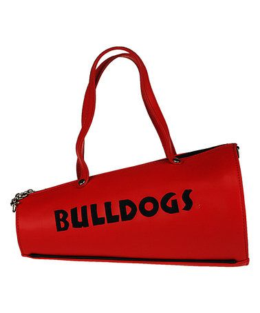 Love this Georgia Bulldogs Megaphone Large Crossbody Bag on #zulily! #zulilyfinds