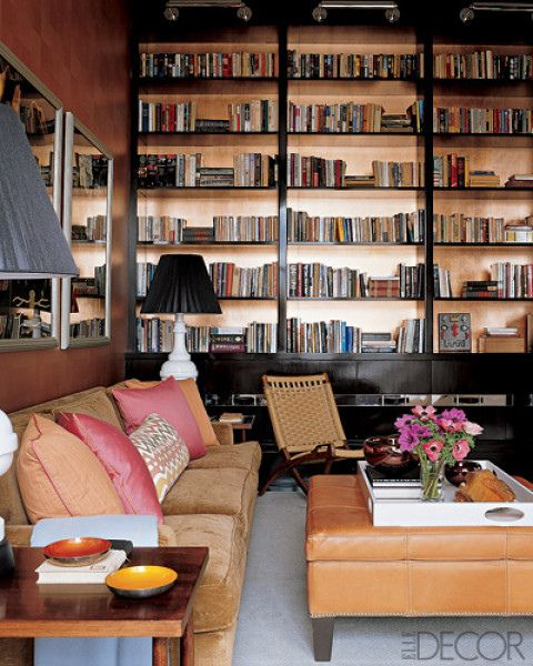 Elle Decor Bookshelves: 17 Best Images About Don't Ignore Your Cabinet Lighting On