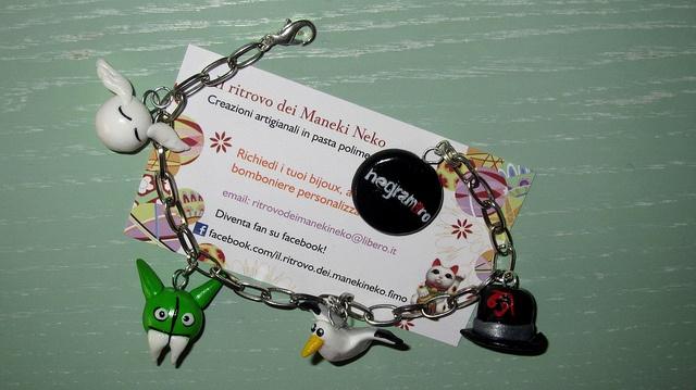 bracciale handmade con ciondoli #negramaro @negramaro