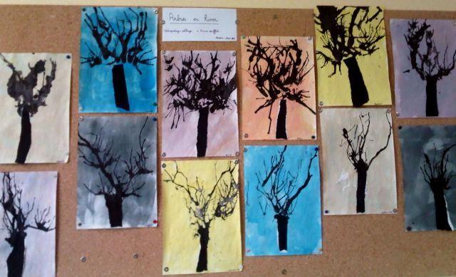 Arbres d'hiver - Arbres - Galerie - Forums-enseignants-du-primaire