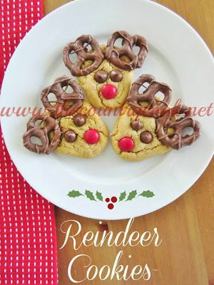 "The Country Cook: Reindeer Cookies a.k.a. ""Rein-Dear Cookies"""