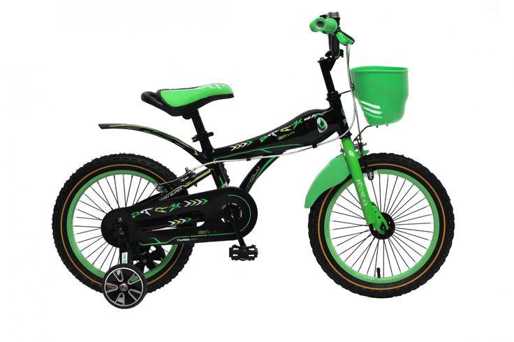 Kinderfahrrad 16 Zoll Kinder Fahrrad Spielrad Rad BMX grün STEM bike Sonstiges