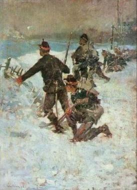 Ștefan Luchian – Înainte, băieţi