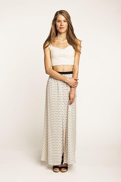 Lauha Vent Skirt - Named
