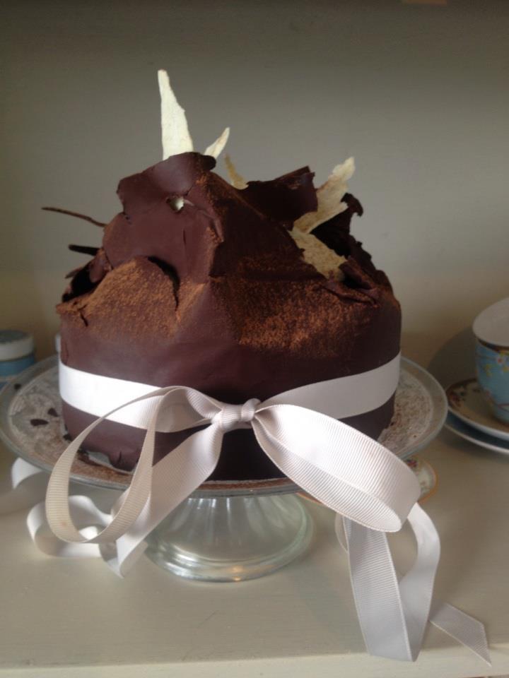 The Husband's homemade birthday cake.