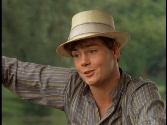 "The absolute LOVE of my life. That's right, folks. Gilbert Blythe is number one in my heart. Though I will consider others, he is truly the greatest male of all time. ""I don't want sunbursts or marble halls, I just want you"" sigh."