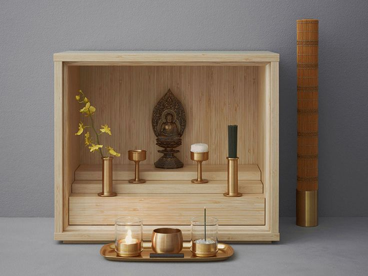This micro-sized Buddhist prayer altar is designed for today's micro-sized Japanese apartments. Product Design Center | WIRED.com