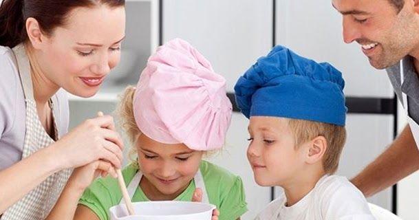 Γιατί είναι σημαντικό να μαγειρεύετε με τα παιδιά σας