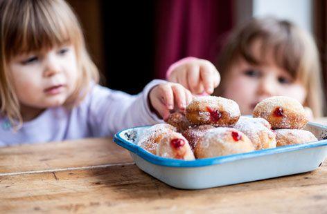 Dominic Chapman's jam doughnuts