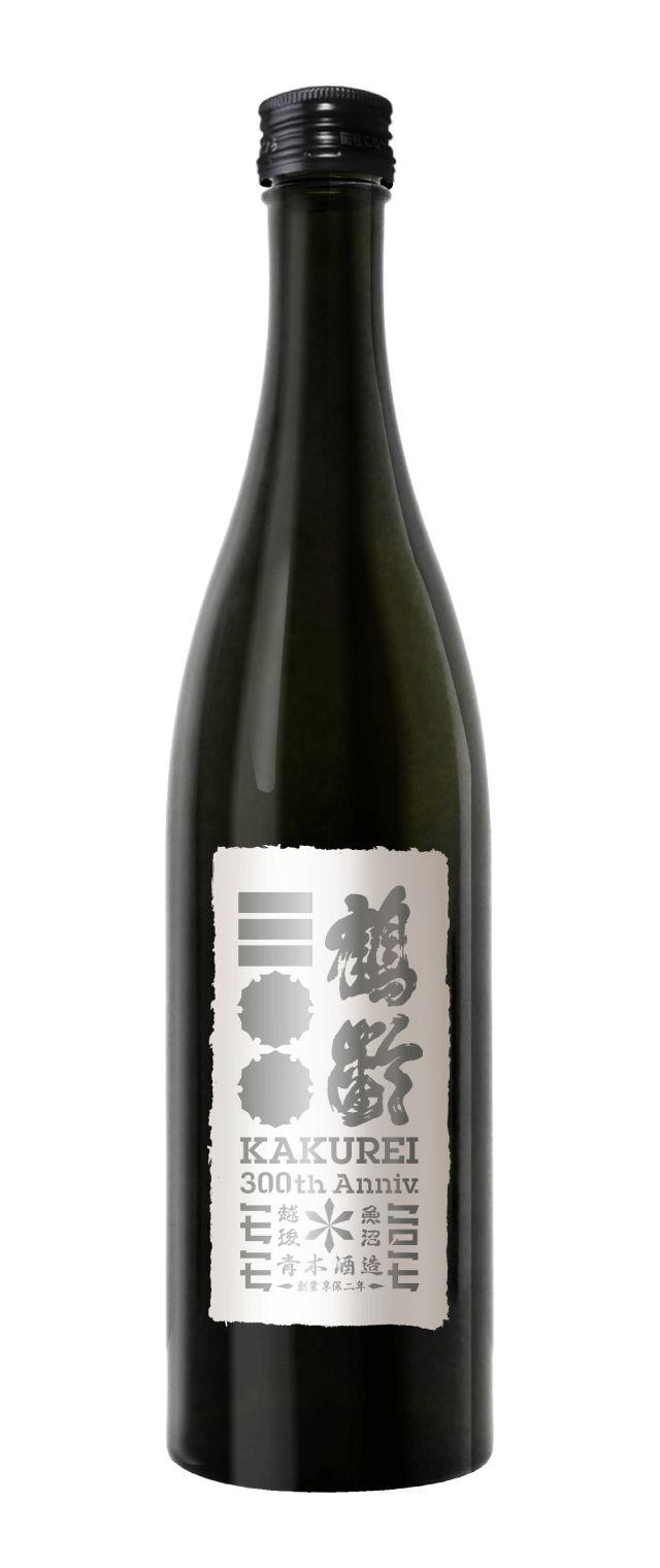 創業三〇〇周年記念酒 鶴齢純米大吟醸 通常版