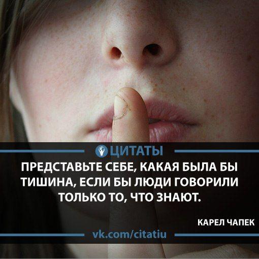 Карел Чапек — один из самых известных чешских писателей XX века, прозаик и драматург, сатирик.    цитаты статусы афоризмы мысли фразы тишина