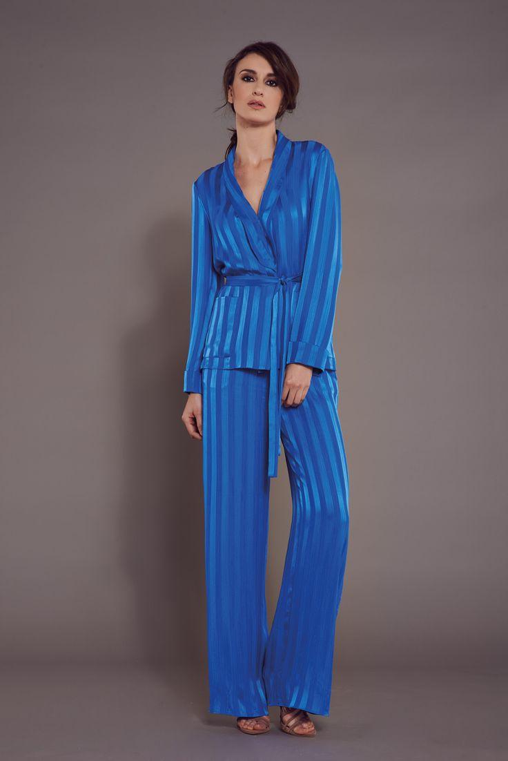 Teti jacket and Nefele trousers Teti and Nefele composition: 49%SE 51%VI #opificiomodenese #ss17 #madeinitaly #highquality #excellence