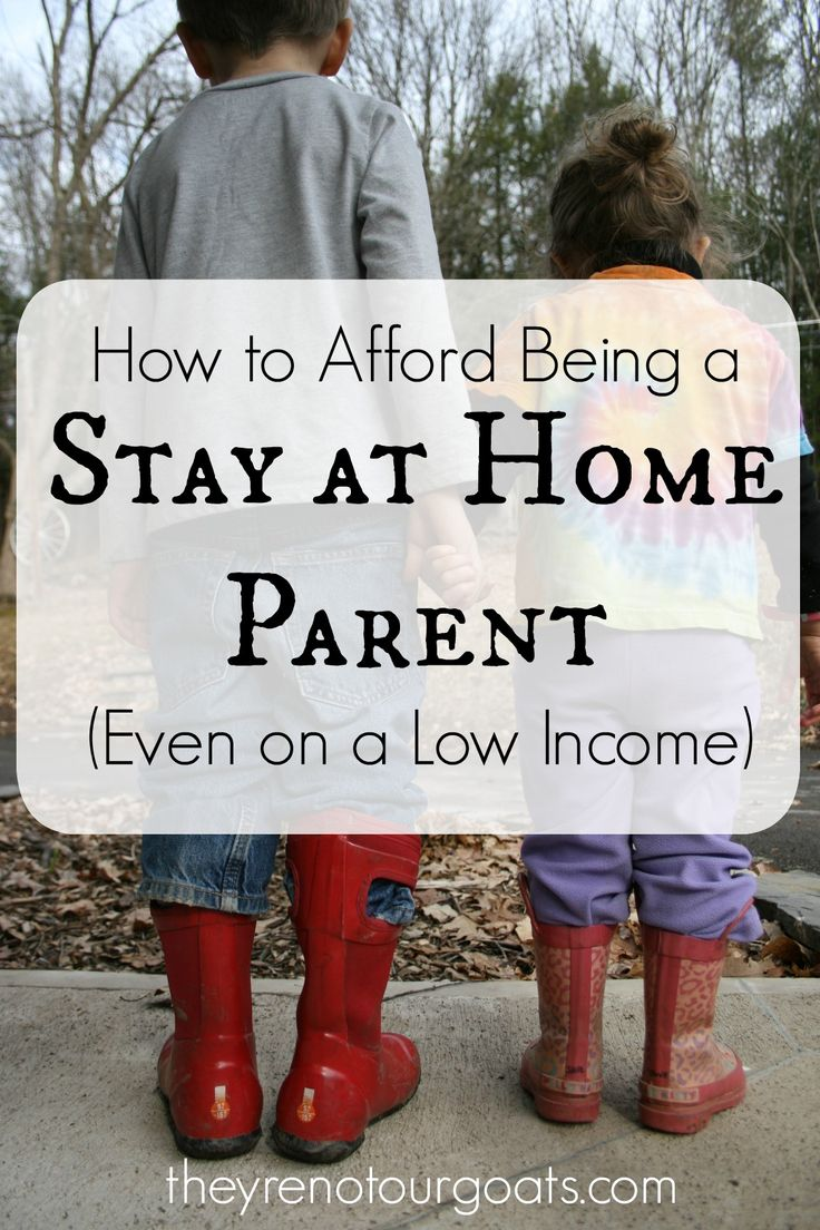 Here are some principles that we live by that allow me to be a SAHM, even living on a low income.