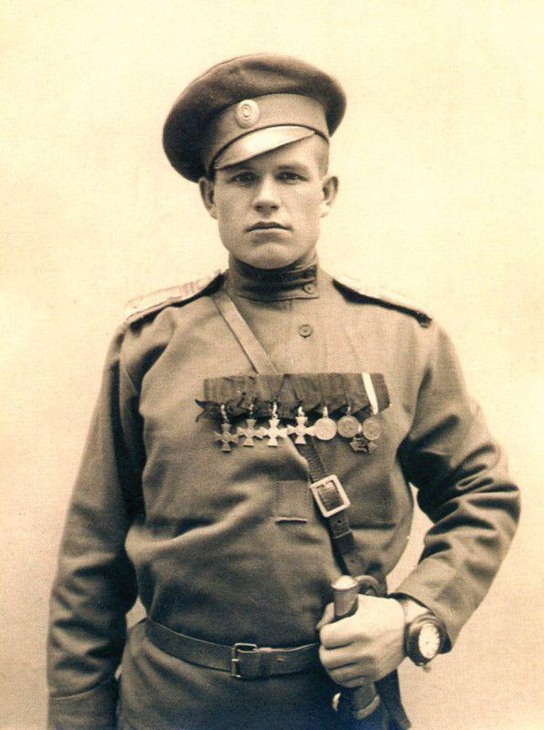 WW1. Imperial Russian Army. Георгиевские кавалеры .