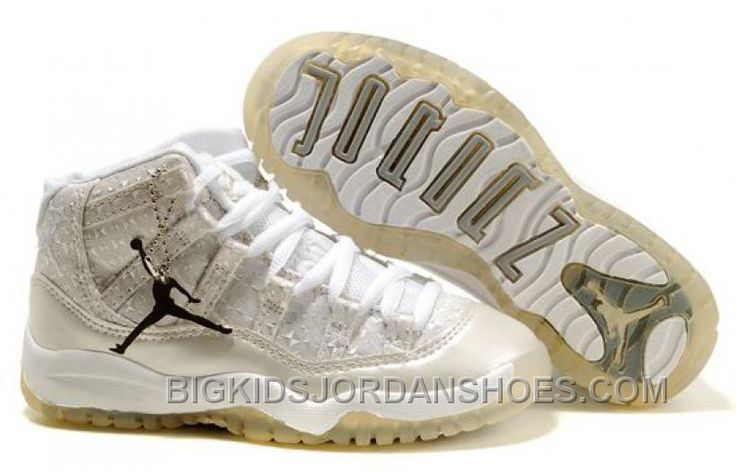 http://www.bigkidsjordanshoes.com/new-kids-air-jordan-11-white-diamond.html NEW KIDS AIR JORDAN 11 WHITE DIAMOND Only $75.70 , Free Shipping!