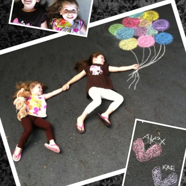 Chalk picture @Gretchen Willett