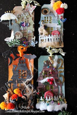 60 best tim holtz rickety house houses images on pinterest tim holtz christmas tag and. Black Bedroom Furniture Sets. Home Design Ideas