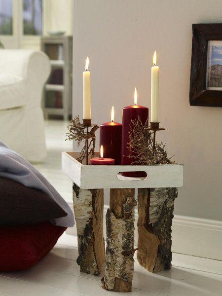 die 25 besten ideen zu birkenstamm deko auf pinterest. Black Bedroom Furniture Sets. Home Design Ideas