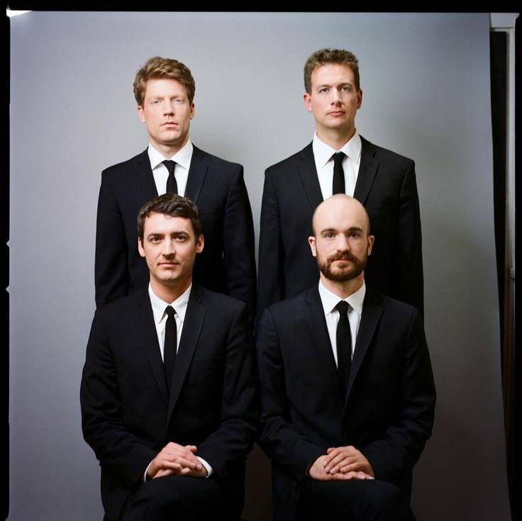 The Calder Quartet.