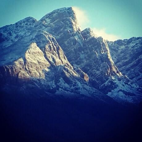 #Tulbagh #snow #winter #2014
