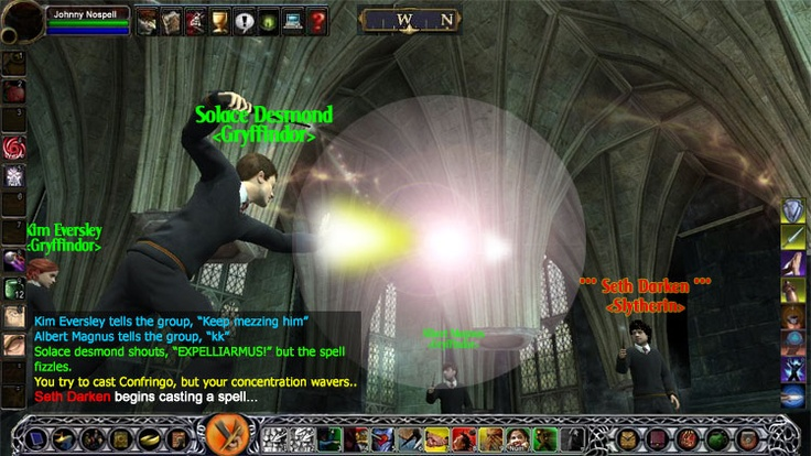 Player-vs.-player combat Harry Potter MMO.  I really hope this gets made.