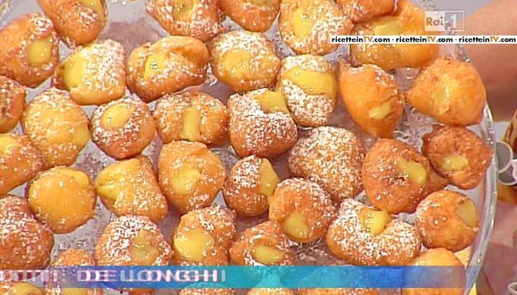La ricetta delle castagnole ripiene di Anna Moroni del 17 febbraio 2015 - Dolci dopo il tiggì
