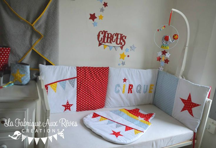 Idee Theme Chambre Bebe Garcon : 1000+ images about Décoration chambre enfant cirque  circus nursery