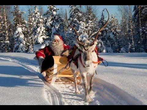 Joulupukin lähtö ja Joulutervehdys