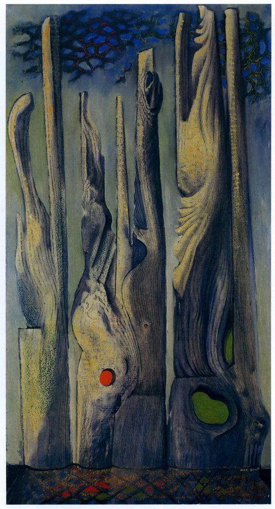 Max Ernst - Forest (frottages), (1925)