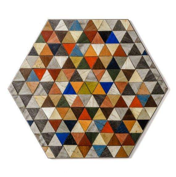 Stylish Hexagon Placemats And Coasters Set Harlequin Range Etsy Hexagon Coasters Placemats Etsy