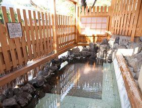 源泉掛け流しの温泉・お風呂│『岡部荘』公式サイト
