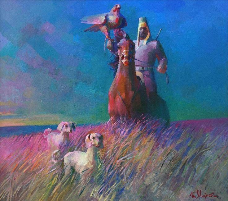 Kazakh artist Bakhytzhan Myrzakhmetov