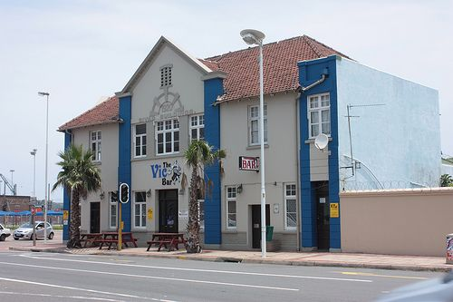 The Vic Bar (Victoria Bar), Point Road, Durban - very famous in the 80s