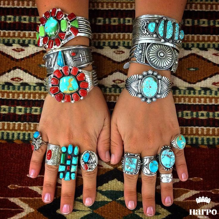 Harpo Bijoux © #nativeamerican #turquoise #jewelry                                                                                                                                                                                 More