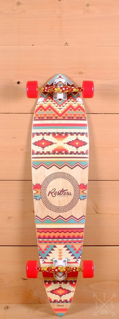 "Restless 39"" Magnum Pintail Longboard"