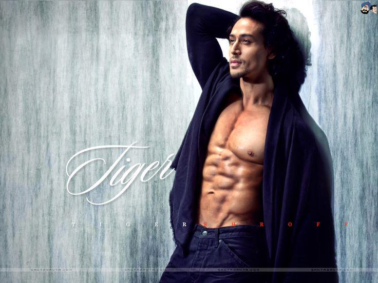 Tigershroff Six Pack Abs Hunks Tiger Shroff Actors Bollywood