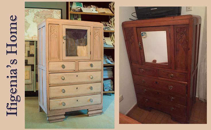 vintage drawer #refurbished