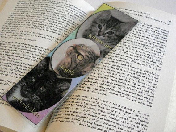 For 10% off entire shop - use Coupon Code PIN10 - Kittens are angels with whiskers    10 mil Laminated by Balilu, $4.50