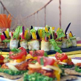 Raw Food and Yoga Detox Retreat - Gorgeous raw food tapas